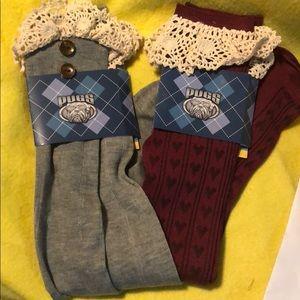 Bundle Boot Socks 2 pairs $15